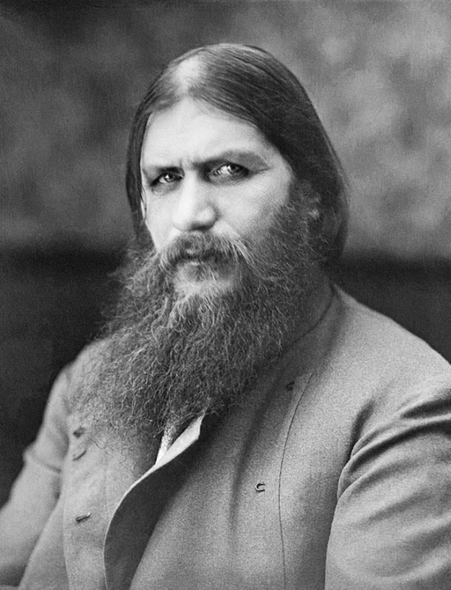 The real life Grigori Rasputin