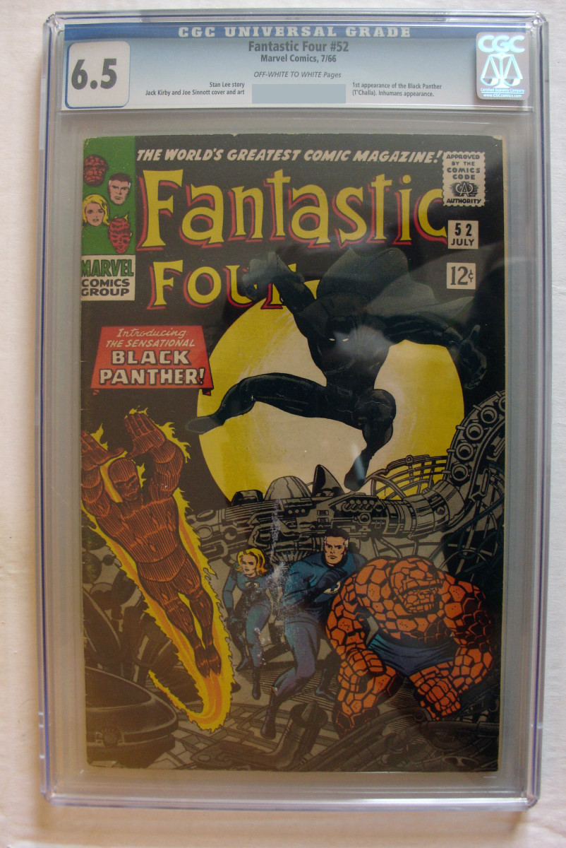 Fantastic Four 52 Black Panther First Appearance