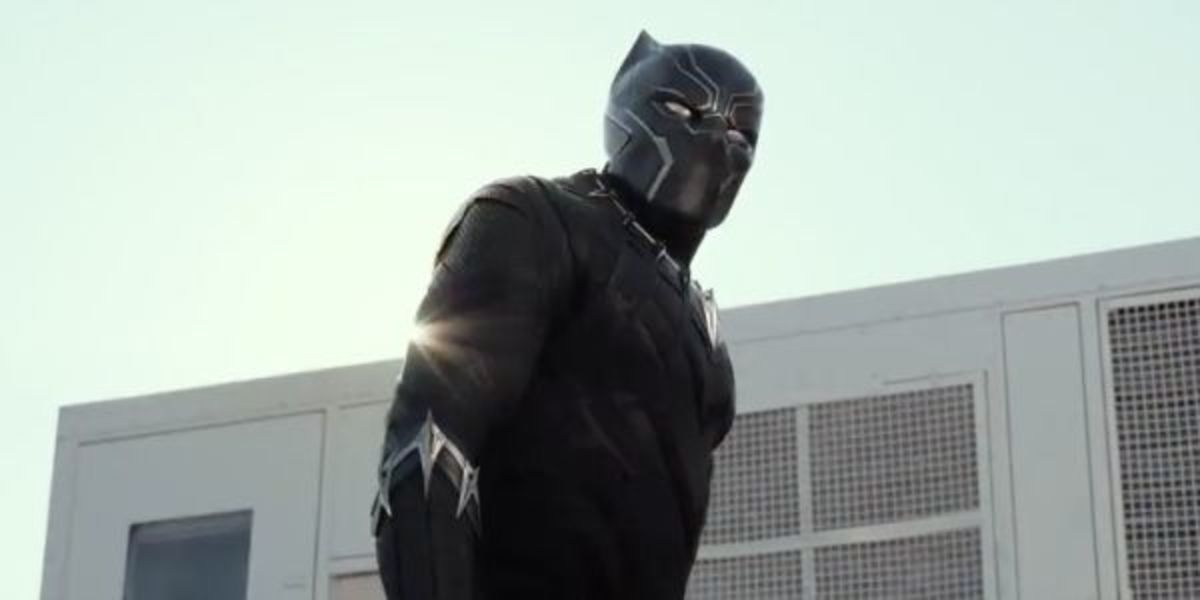 Black Panther from Captain America: Civil War.