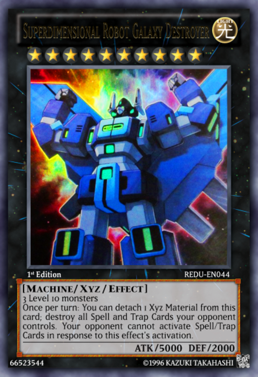 Superdimensional Robot Galaxy Destroyer