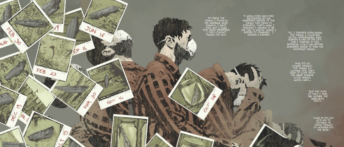 Review of Gideon Falls Issue #1