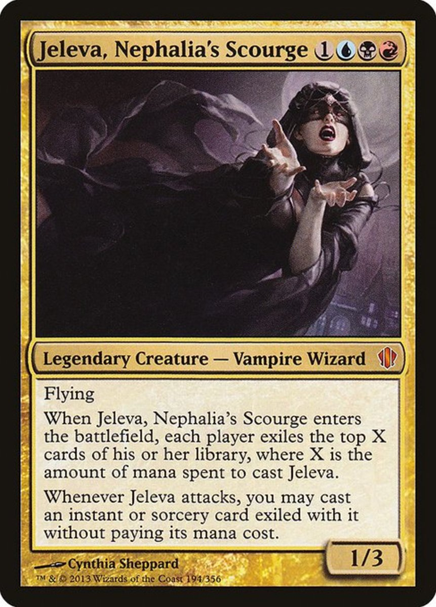 Top 10 Vampires in Magic: The Gathering (MTG)