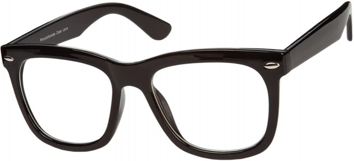 In 2008, nerd glasses were all the rage.