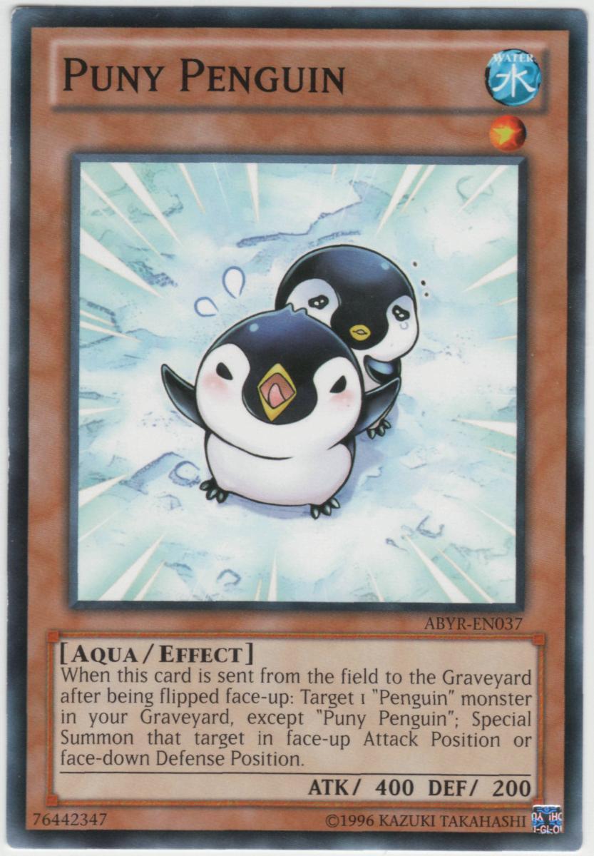 Puny Penguin