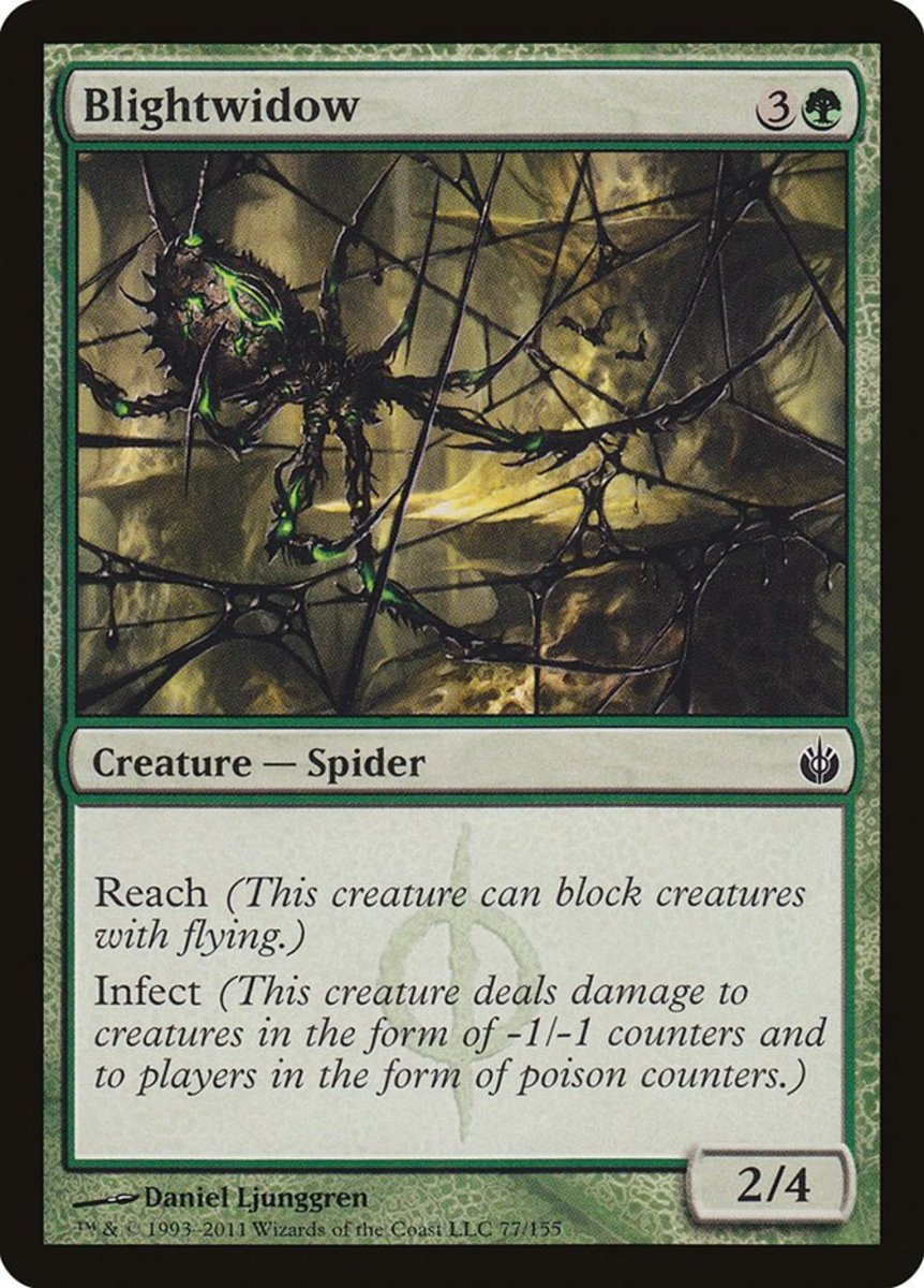Top 10 Spiders in Magic: The Gathering