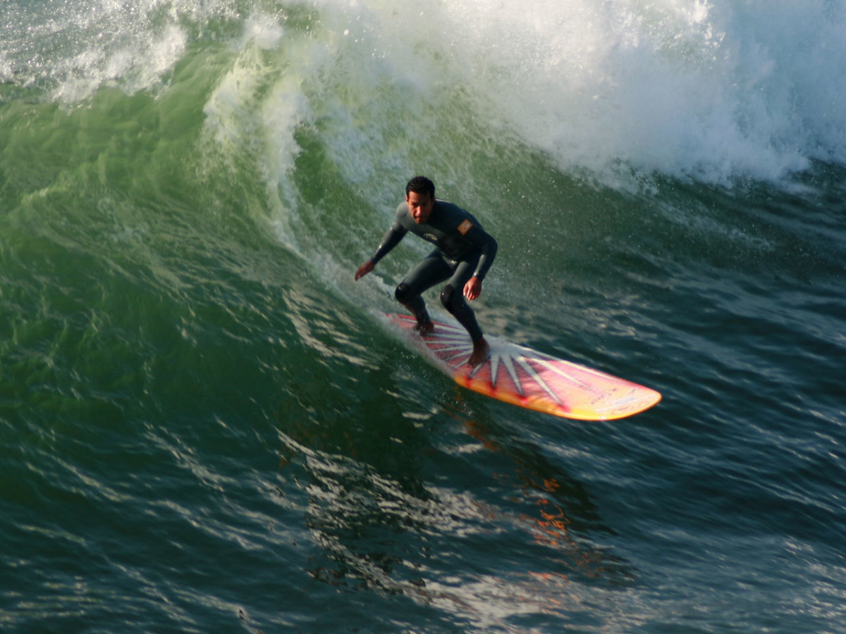 Surfing is the official sport of California and Hawai'i.
