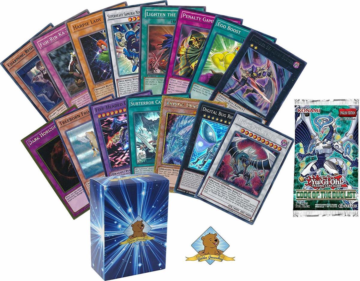 5 Awesome Yu-Gi-Oh Card Lots