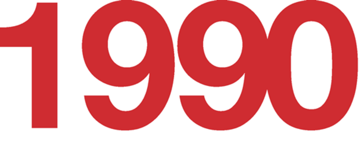 1990 Fun Facts, Trivia, and History