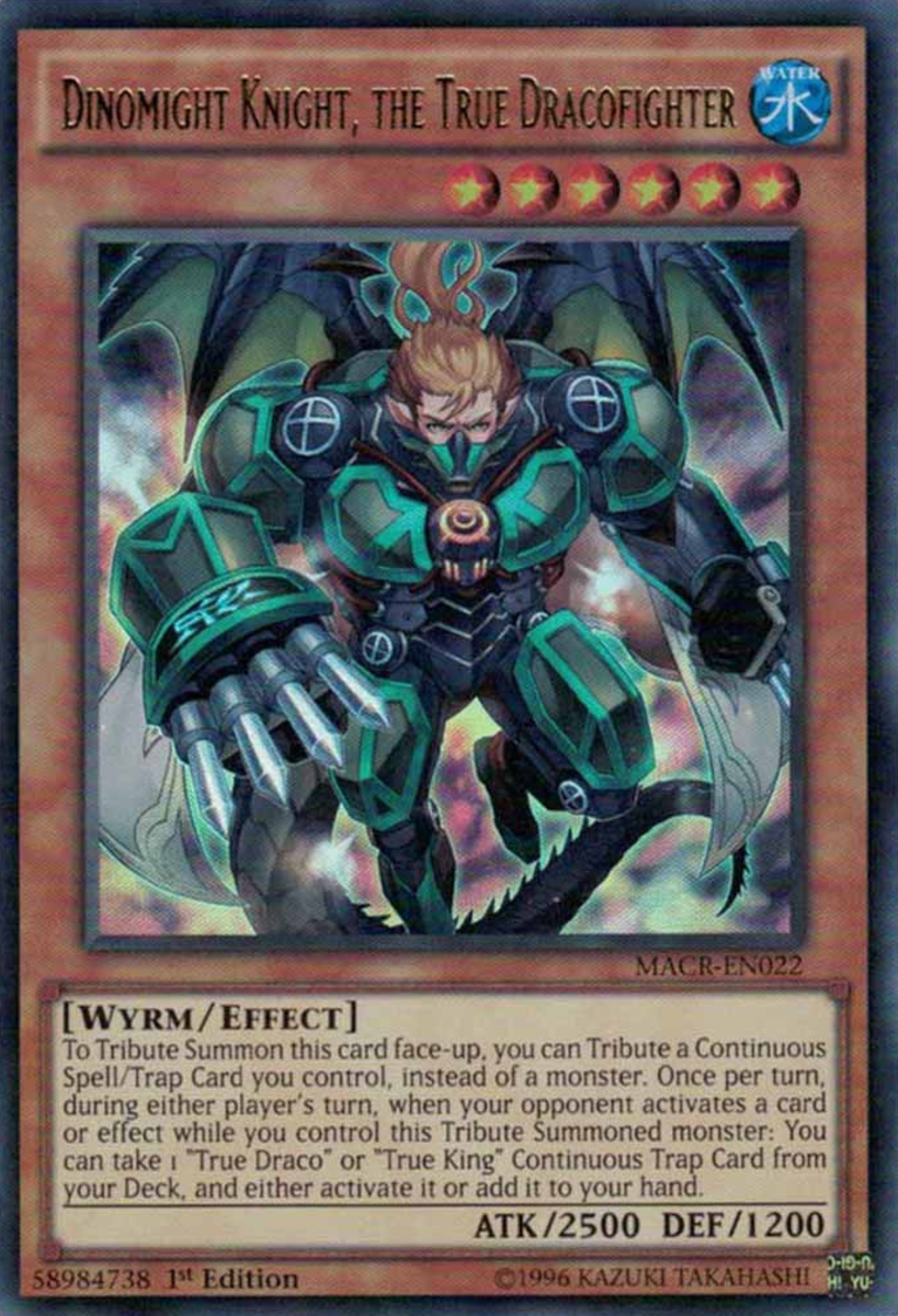 Dinomight Knight, the True Dracofighter