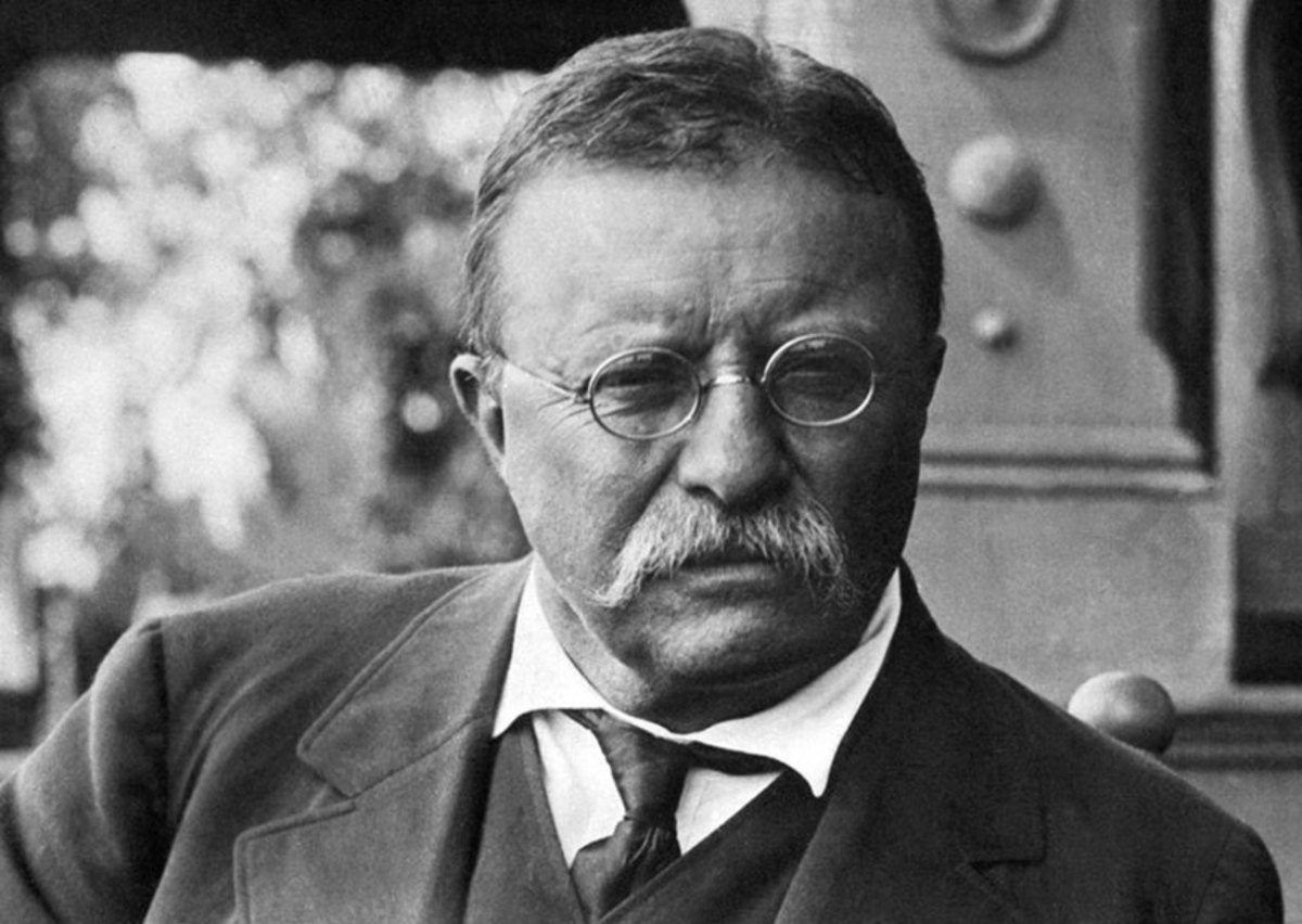 In 1906, Theodore Roosevelt was the 26th President of the United States.