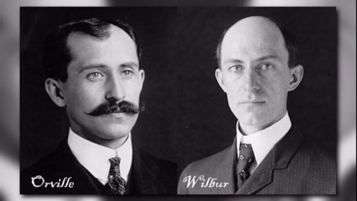 """In 1906, Orville and Wilbur Wright were granted a United States patent for their """"flying machine."""""""