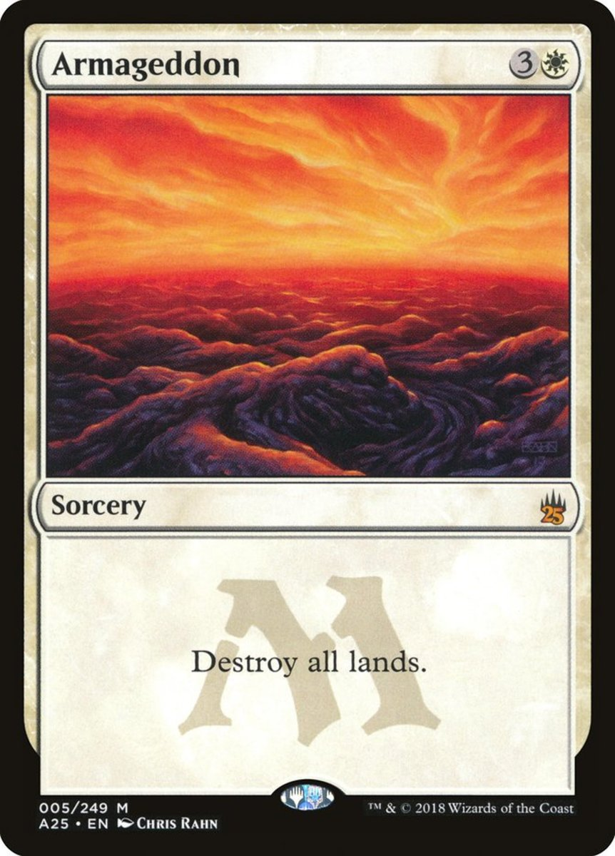 Top 10 Land Destruction Cards in Magic: The Gathering