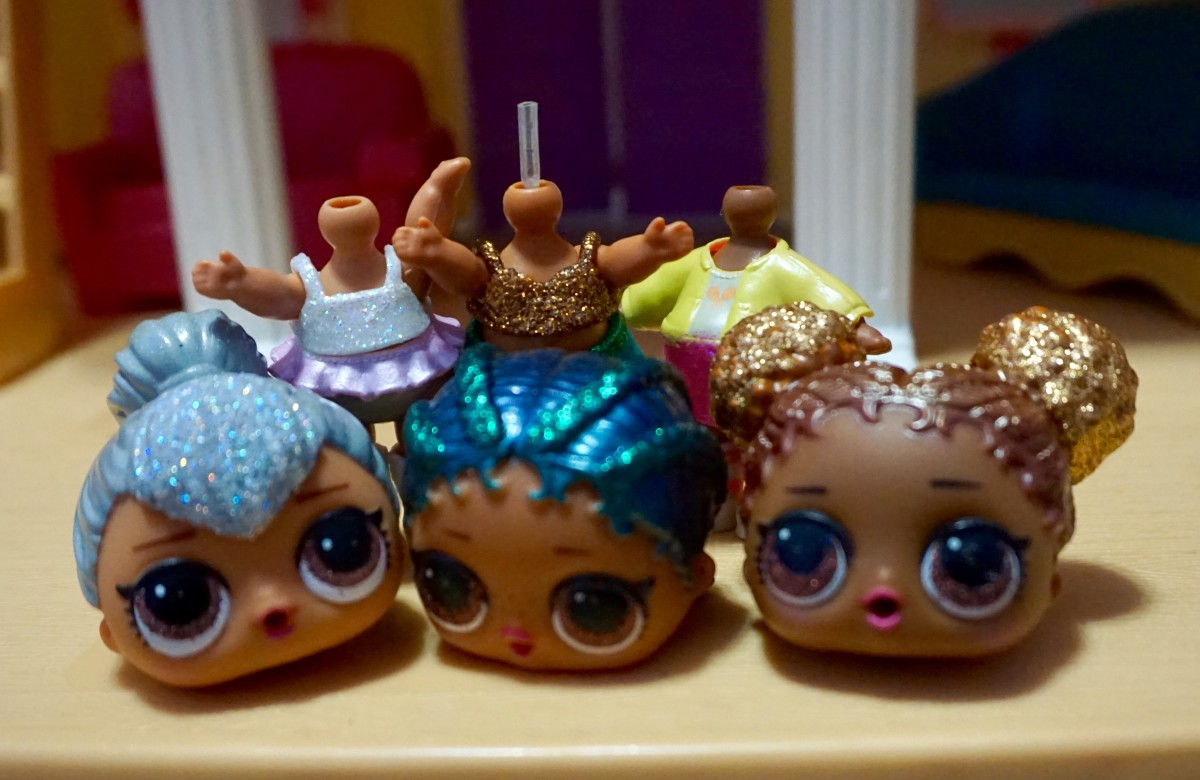 Headless dolls may be distressing to some children, but my daughter loves it.