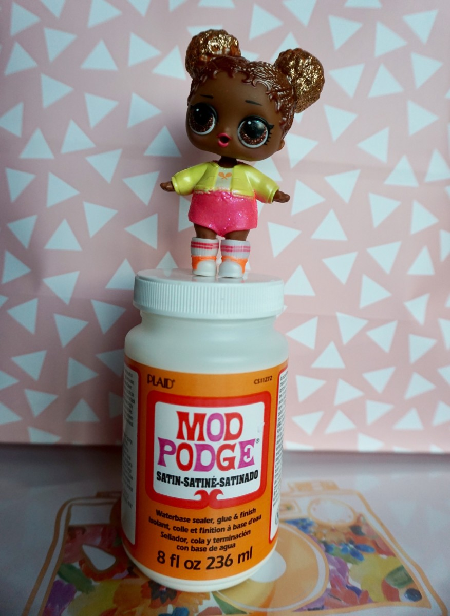 The Cure for Glitter Pox: Mod Podge