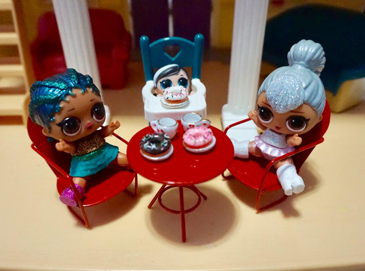 Local craft stores, such as the Hobby Lobby have a variety of affordable, miniature accessories perfect for your itty-bitty dolls.