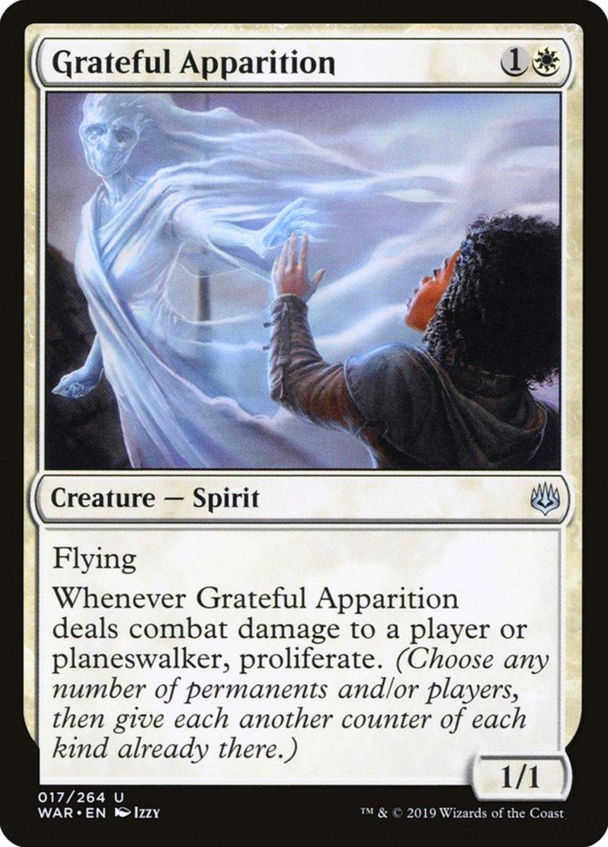 Grateful Apparition mtg