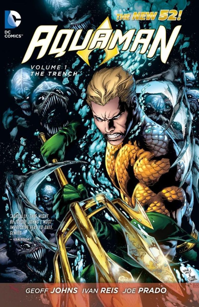 4 Aquaman Comics to Read Before the Movie