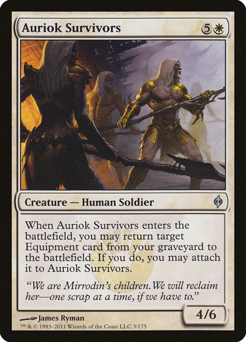 I Survived Monster In Lower Stacks Of >> Top 50 Best Equipment Support Cards In Magic The Gathering Hobbylark