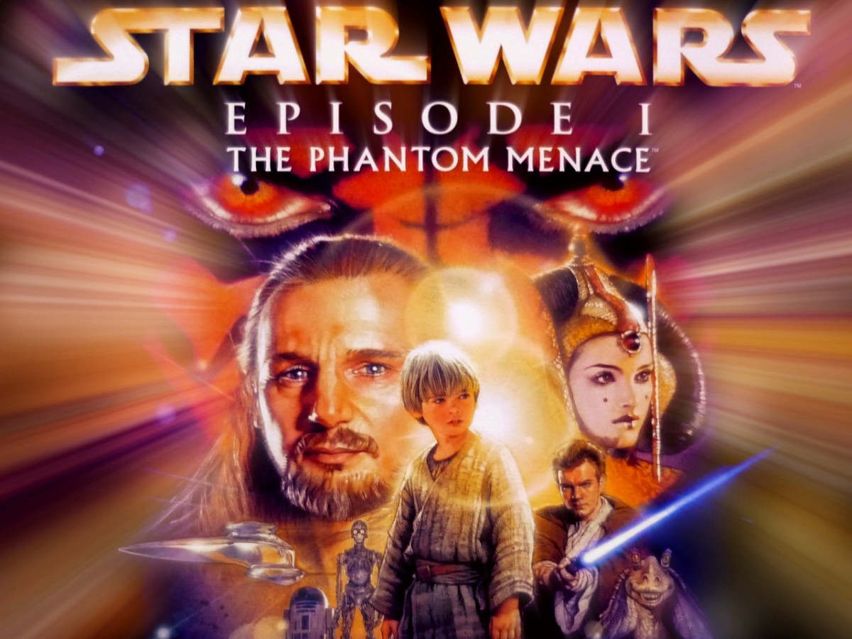 """In 1999, """"Star Wars Episode One: The Phantom Menace"""" was the most popular film."""