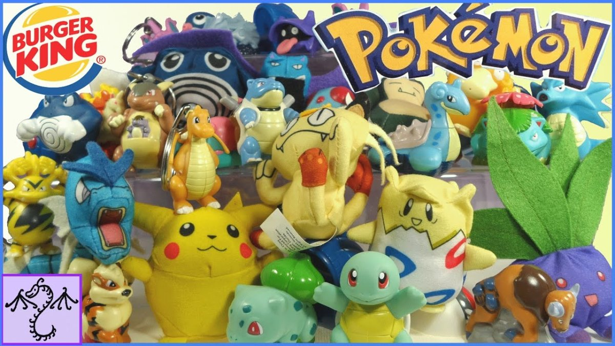 In 1999, pokémon toys and games were all the rage.