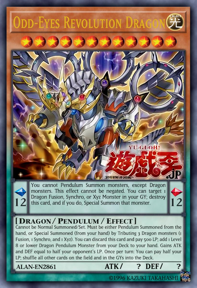 Odd-Eyes Revolution Dragon