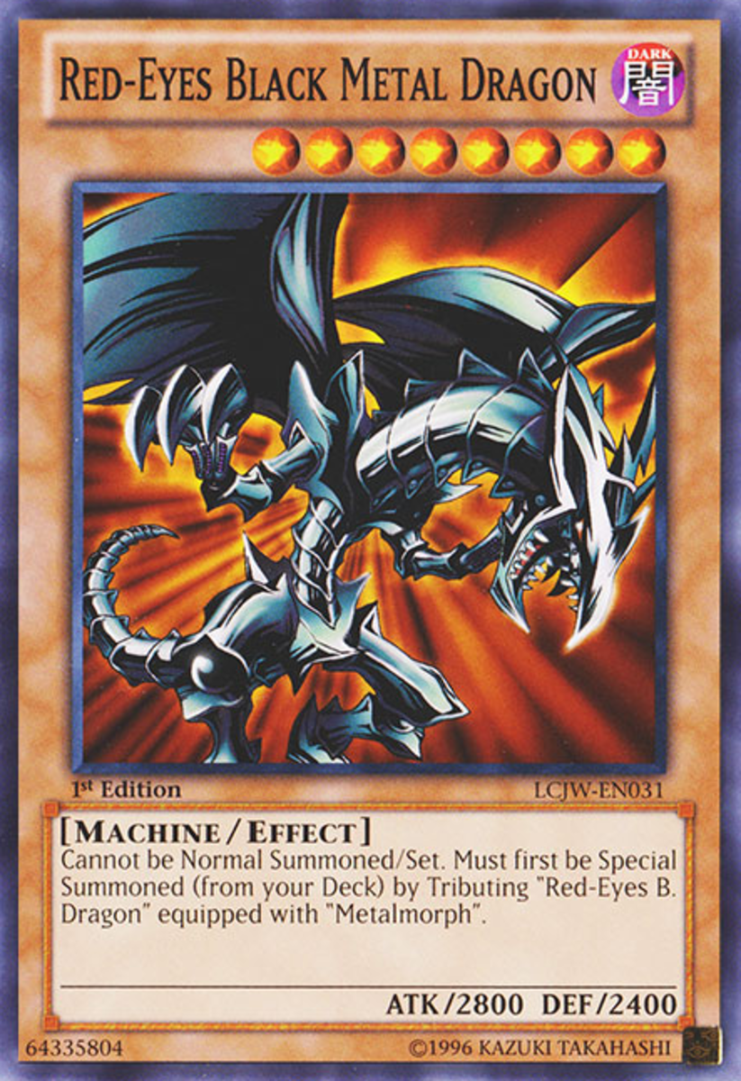 Red-Eyes Black Metal Dragon