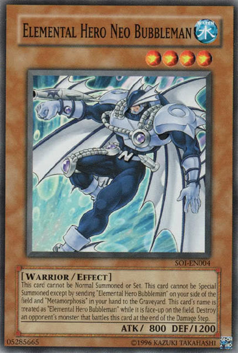 Elemental HERO Neo Bubbleman