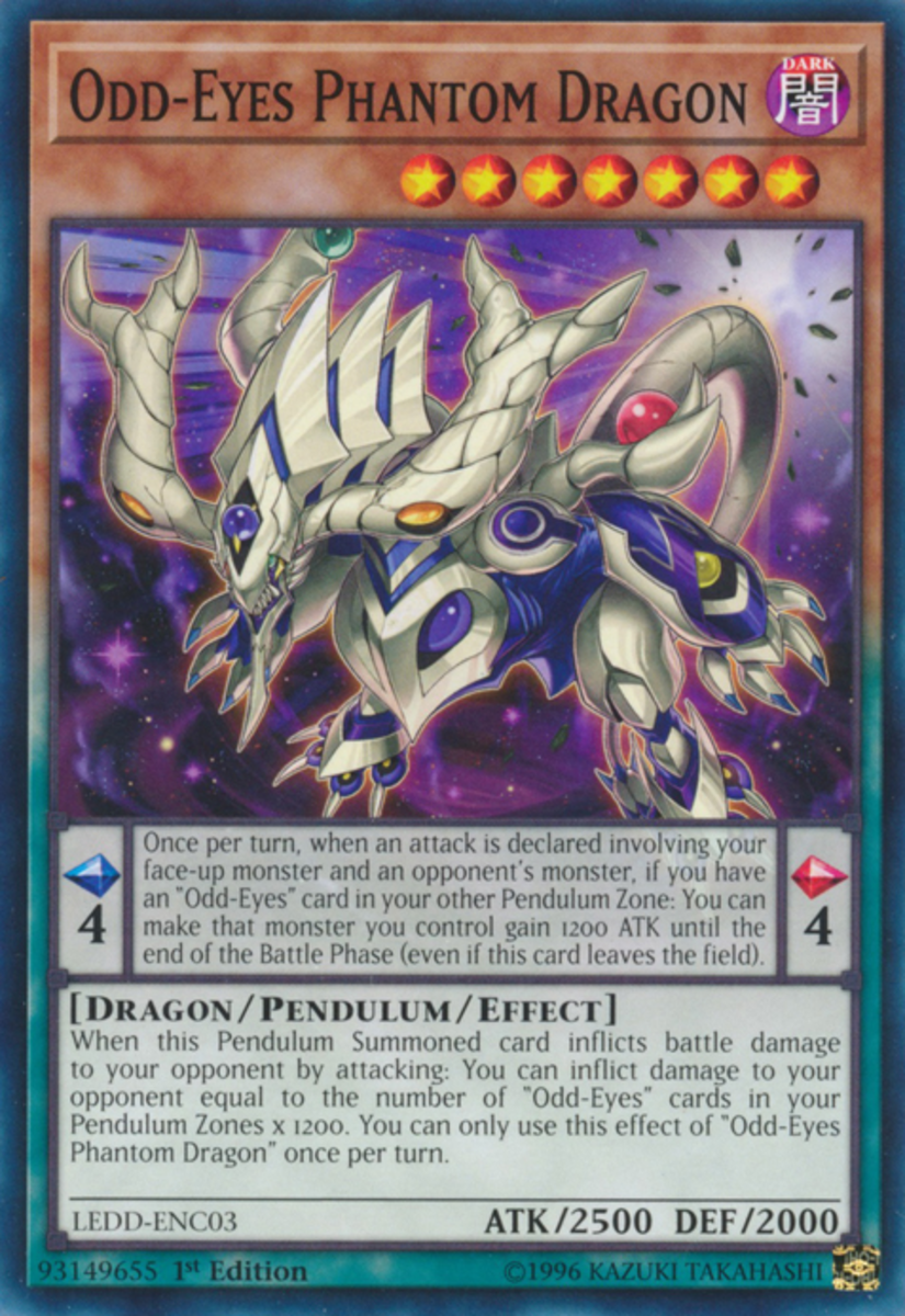 Odd-Eyes Phantom Dragon