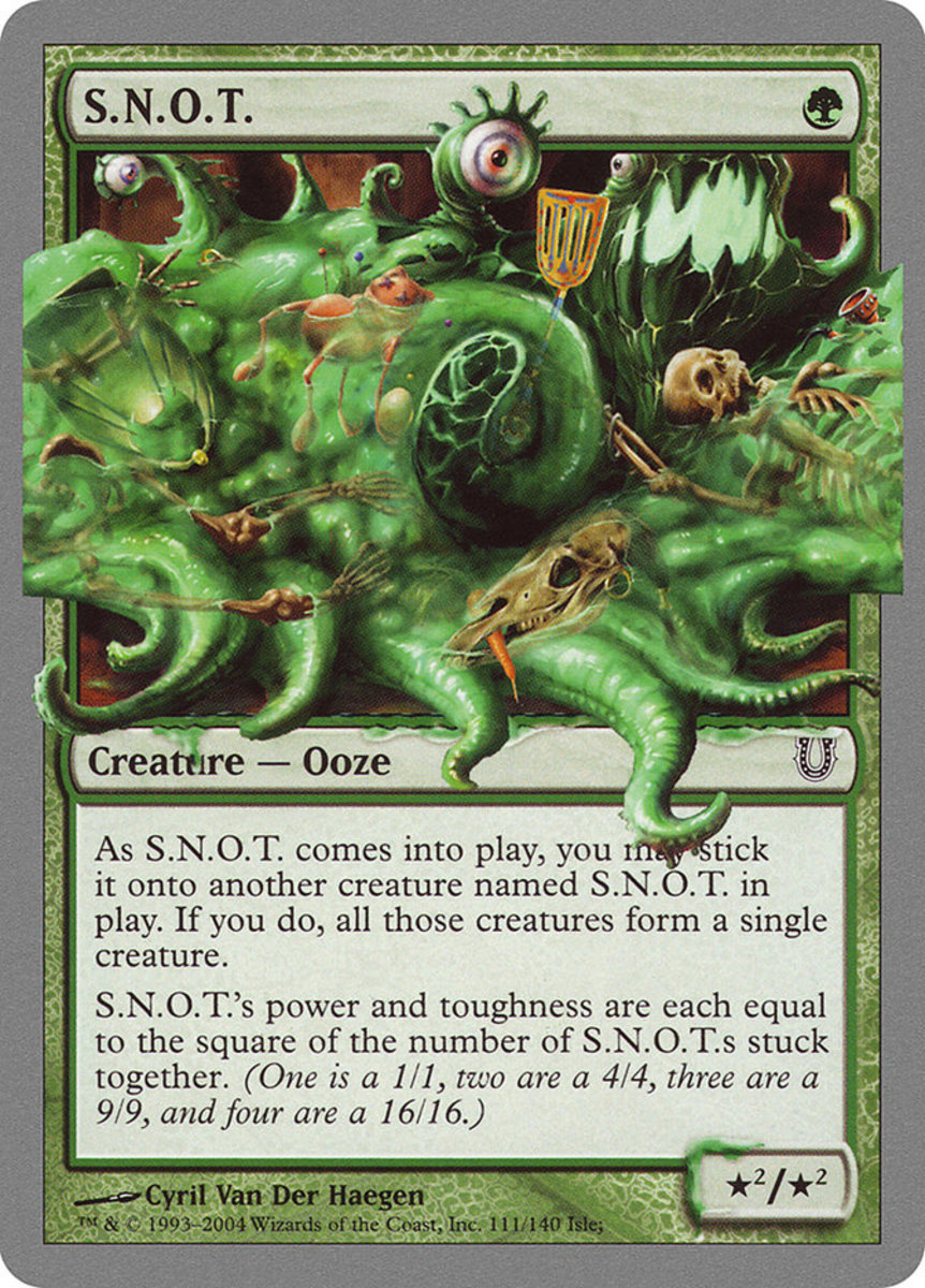 Top 10 Weirdest Power/Toughness Stats in Magic: The Gathering