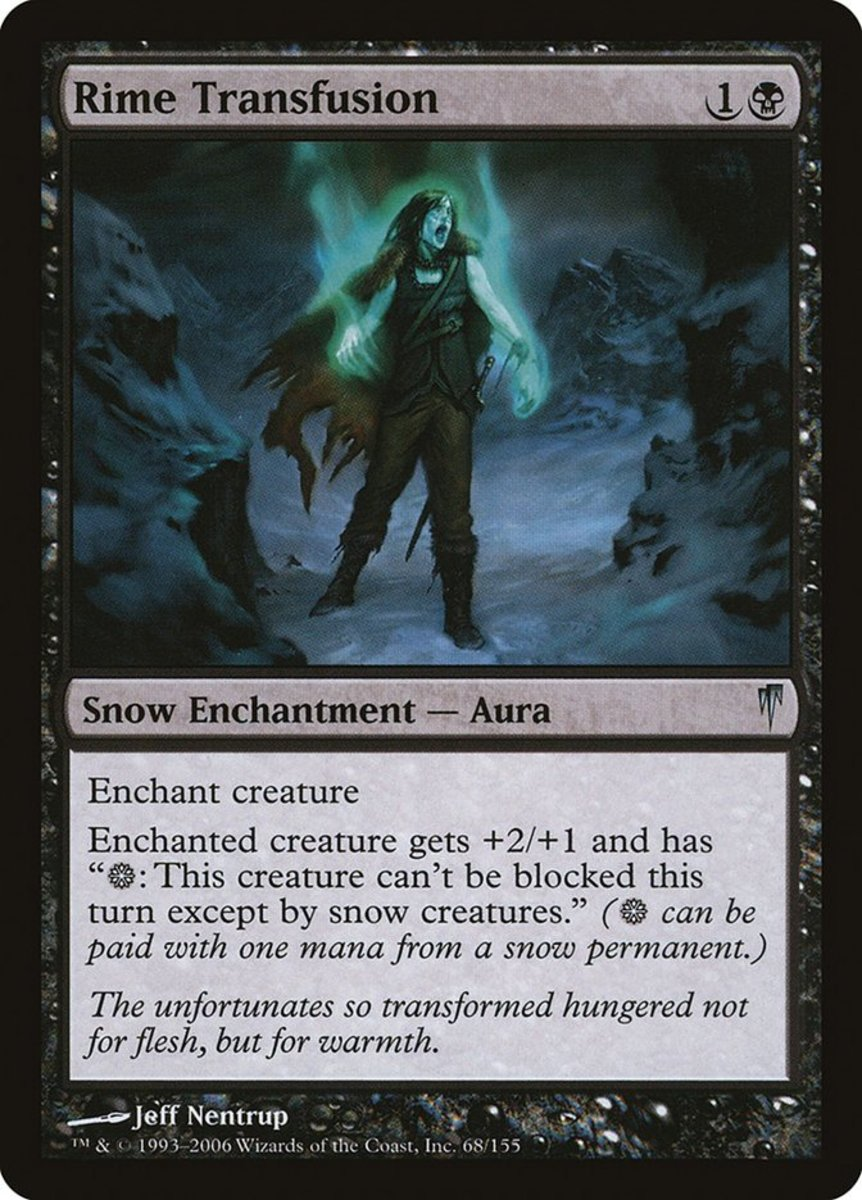 Top 10 Snow Cards in Magic: The Gathering