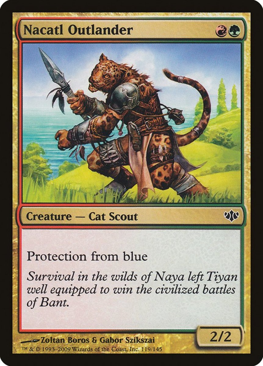 Top 10 Creatures With Protection From Blue in Magic: The Gathering