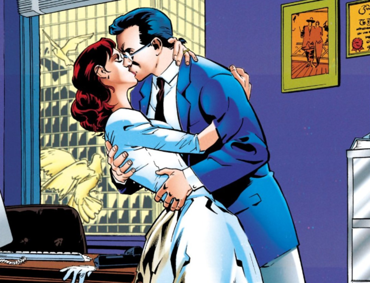 "Page from ""Superman: The Wedding Album"""
