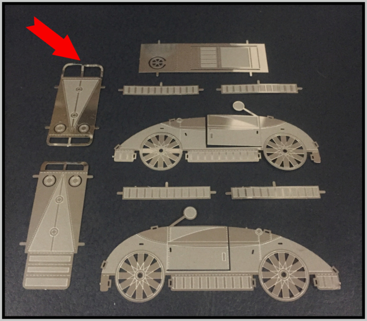 Tips and Tricks for Metal Earth Models