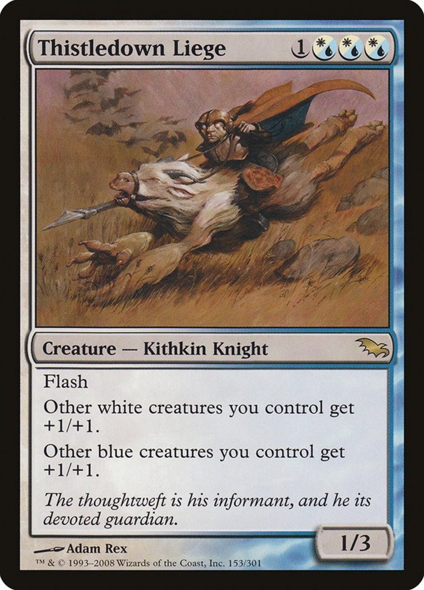 Top 10 Liege Creatures in Magic: The Gathering