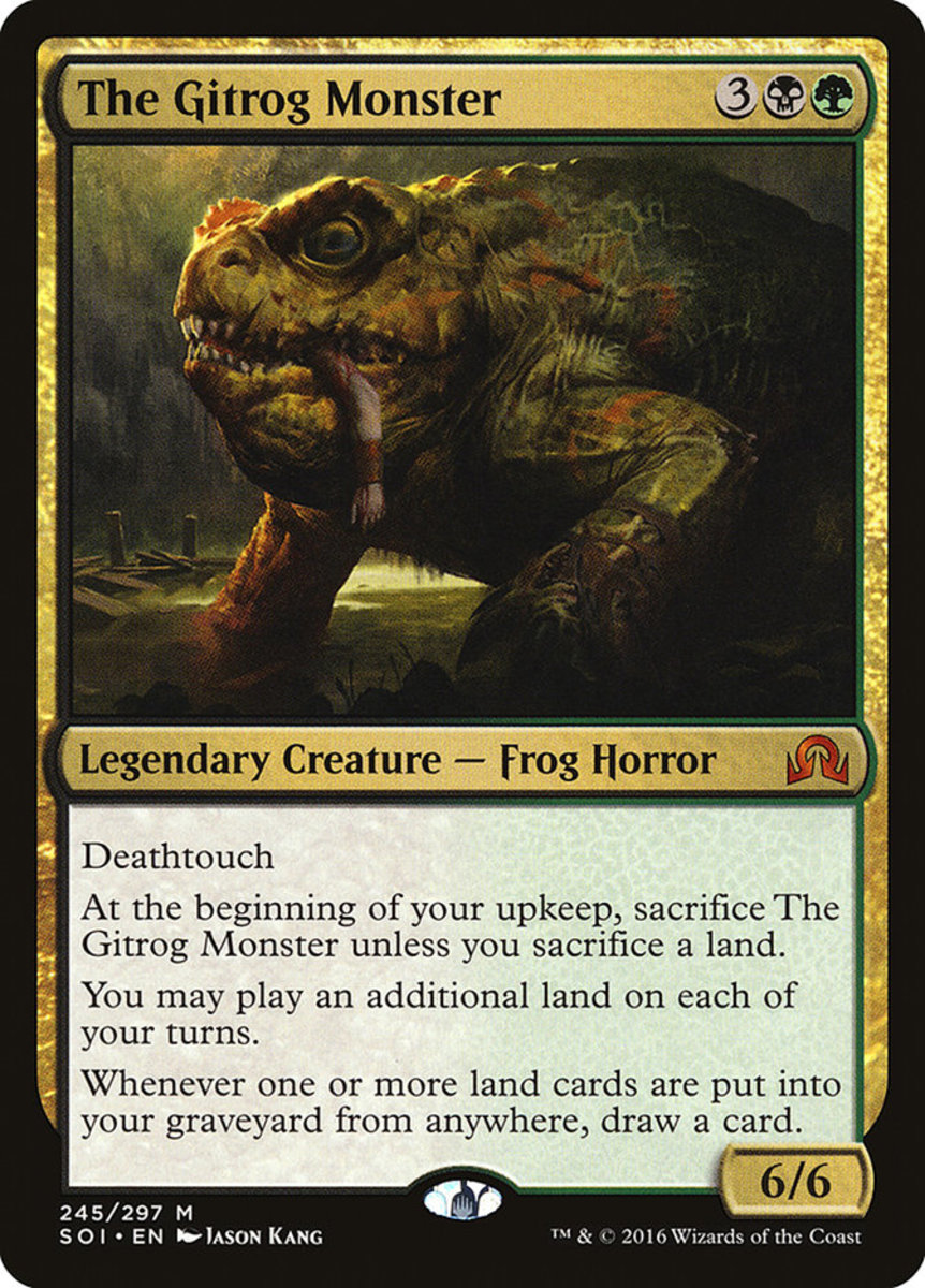 The Gitrog Monster mtg