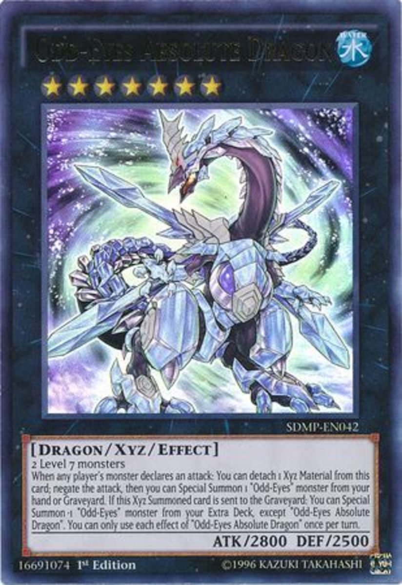 ABSOLUTELY any other Odd-Eyes Dragon in your Extra Deck simply by Xyzing.  Yup.  What if a Link monster could do this?