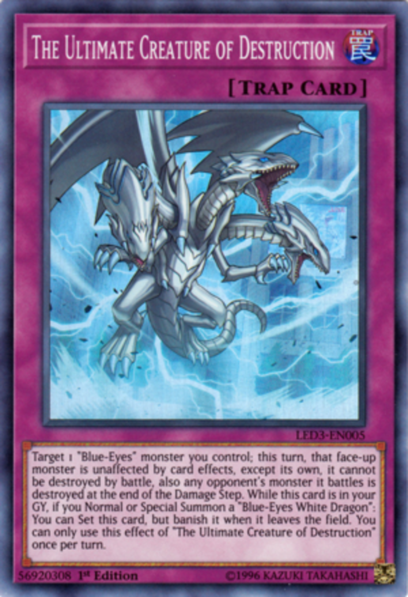 """The writer understands this isn't a """"recommended"""" card for the deck, but just the fact that something like this exists for an archetype is... ridiculous."""