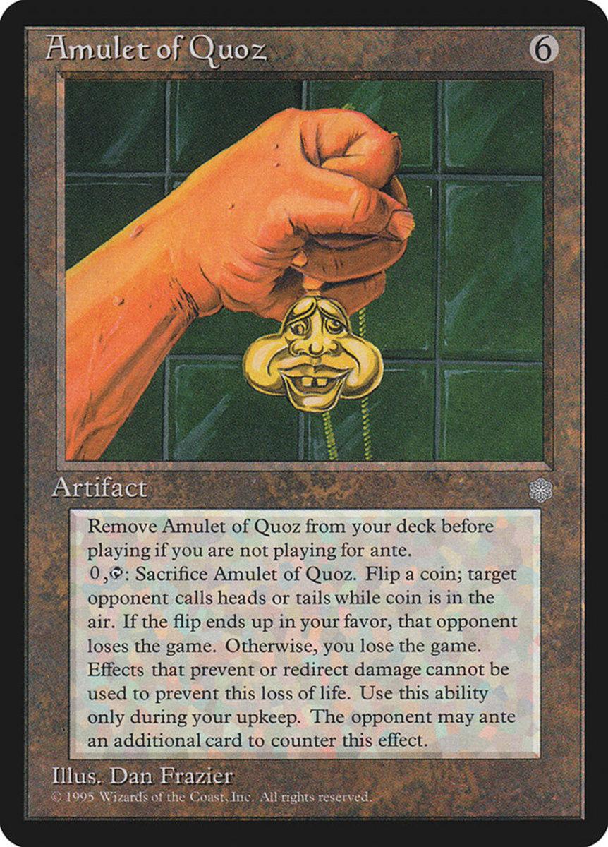 Amulet of Quoz mtg