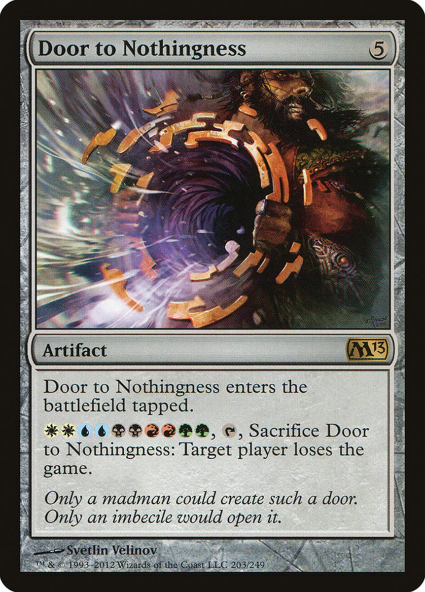 Door to Nothingness mtg