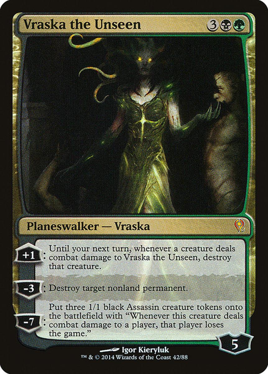 Vraska the Unseen mtg
