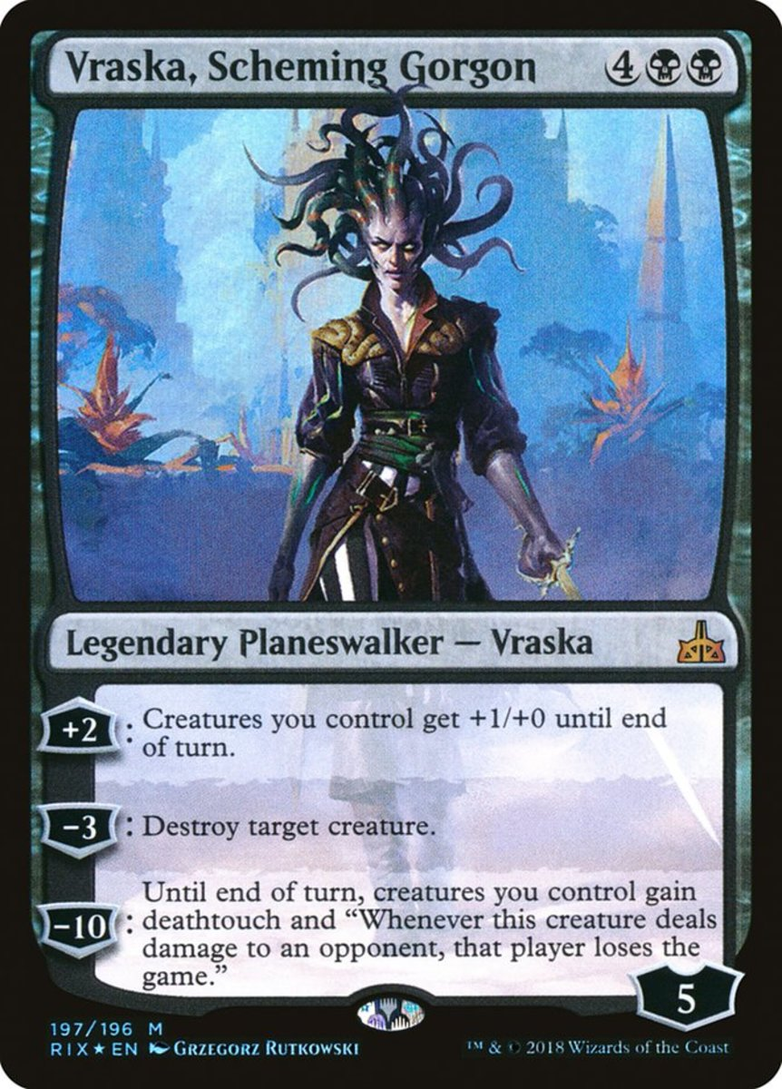 Vraska, Scheming Gorgon mtg