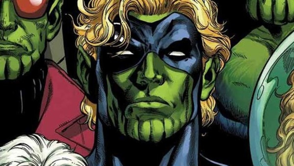 Khn'nr, the Skrull who thought he was Captain Mar-Vell