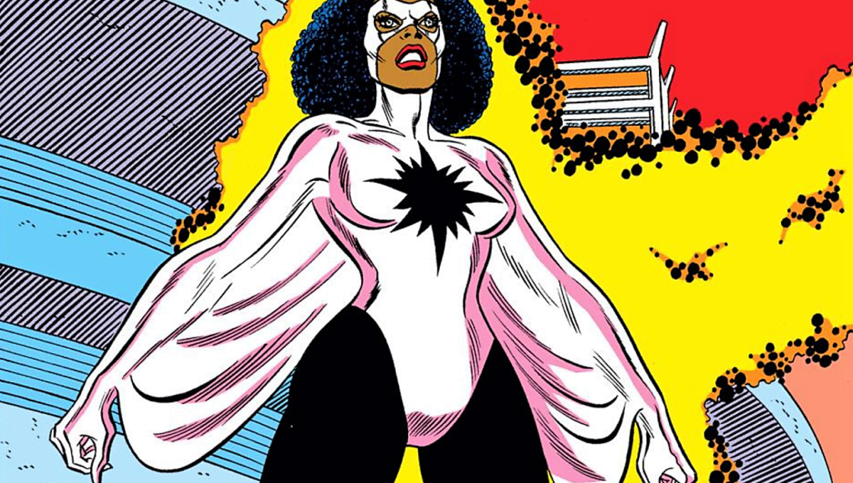 Monica Rambeau, the second hero in the MU to use the name Captain Marvel