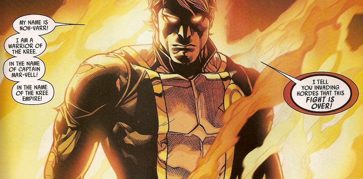 Noh-Varr, Captain Marvel of the Dark Avengers