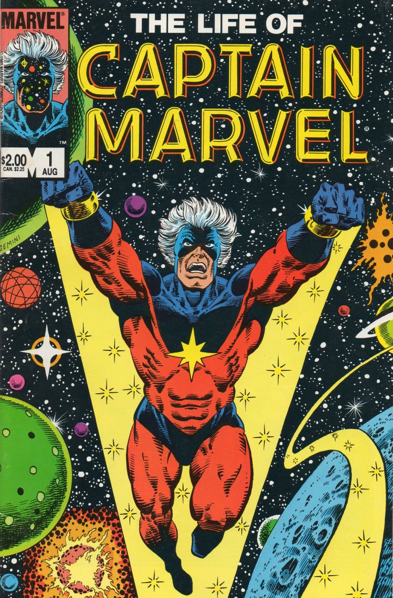 Marvel one time flagship character - Captain Mar-Vell