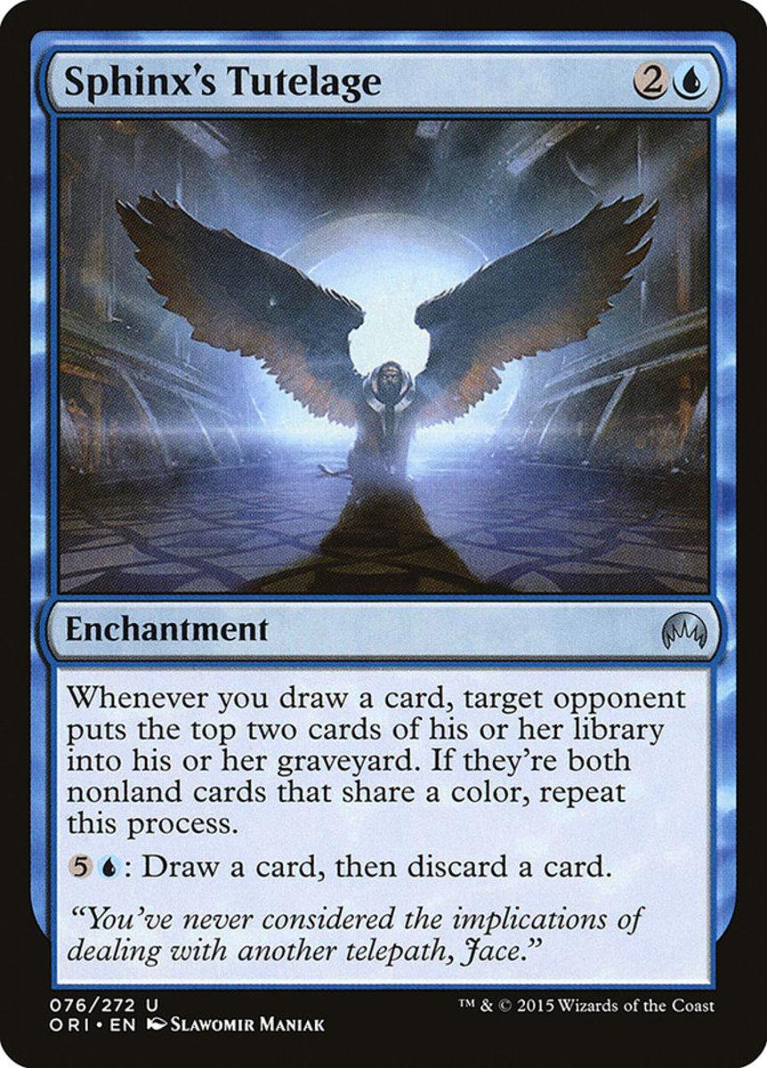Sphinx's Tutelage mtg