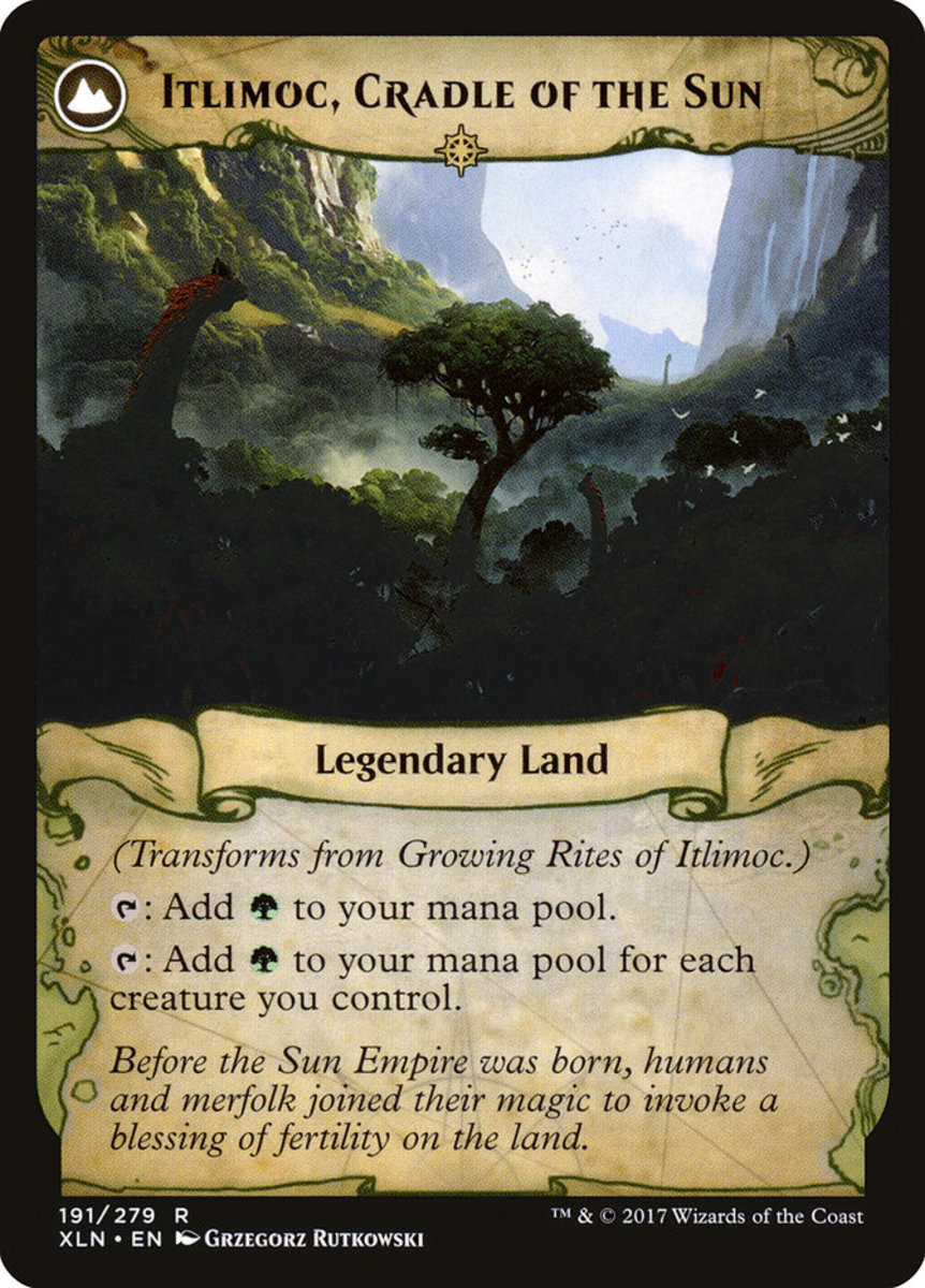 Itlimoc, Cradle of the Sun mtg