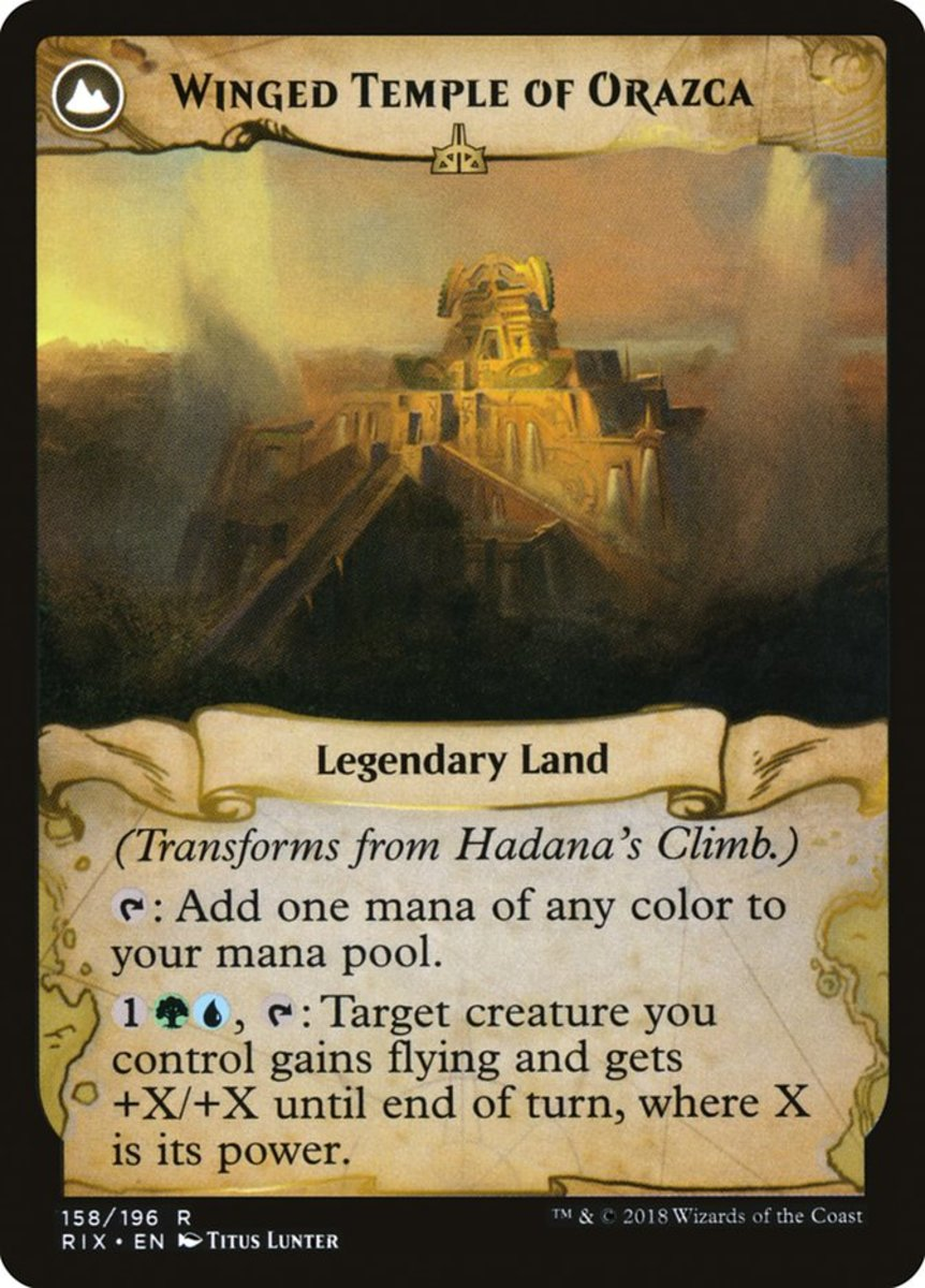 Winged Temple of Orazca mtg