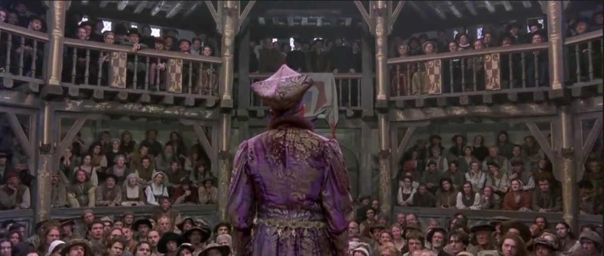 "Romeo & Juliet Narrator from ""Shakespeare in Love"""