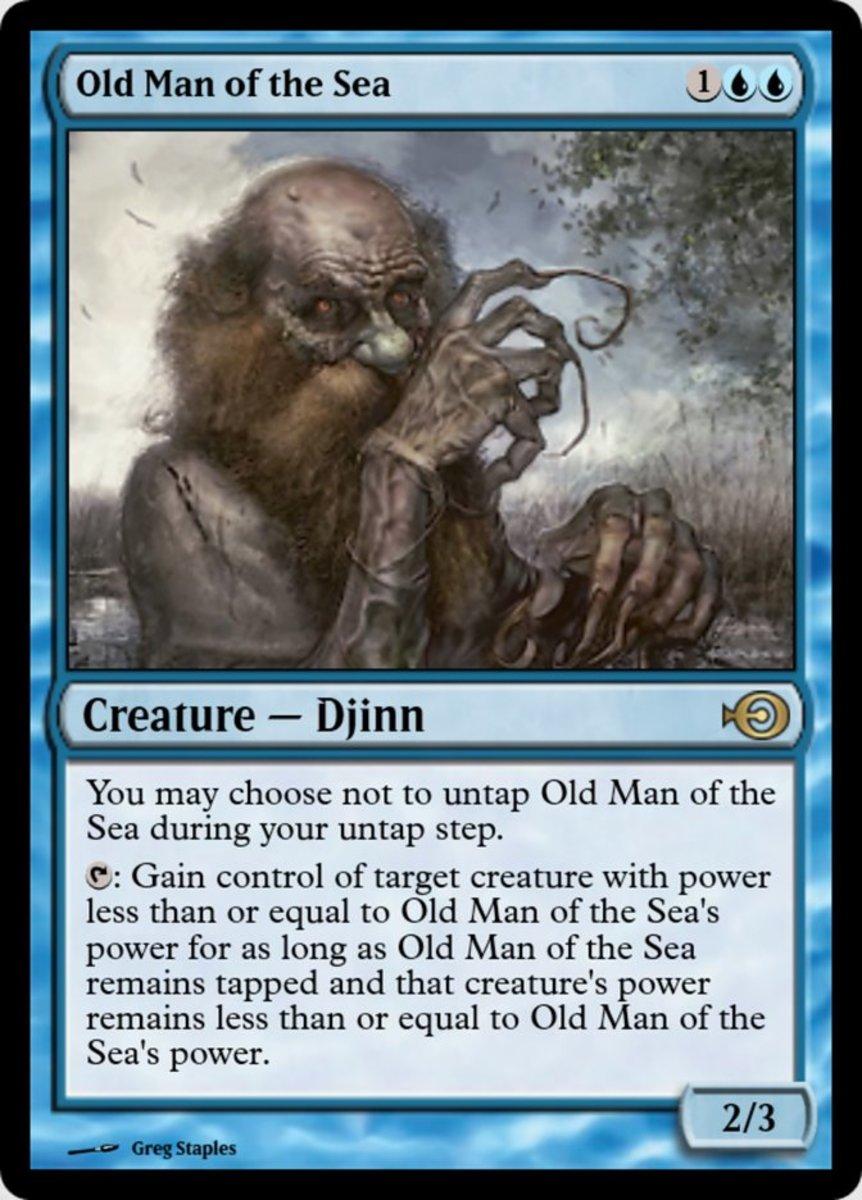 Old Man of the Sea mtg